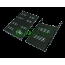 Abba rack 19 inch Flat Shelf 500mm, 1U