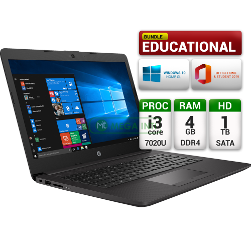 HP 240 G7 53PA Educational Bundle